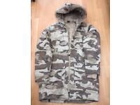 Men's Bench camouflage jacket size medium very good condition £10