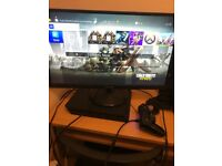 PS4/GAMING MONITOR/HEADSET/15 GAMES/PADDLE CONTROLLER