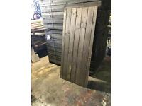 Quality treated timber gate