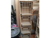 Pigeon hen boxes for sale. Set of 4 boxes. 8 available.