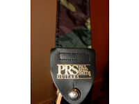 LIKE NEW: PRS camouflage Guitar Strap.