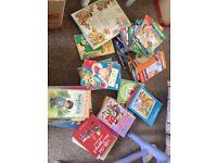 Free box of girls books