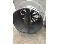 Large - 2 x Industrial extraction fans large - 3 phase
