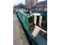 38ft Cruiser Stern Narrowboat Canal boat