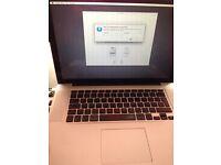 MacBook Pro 15inch, 4gb ram, 500gb hd in pretty good condition