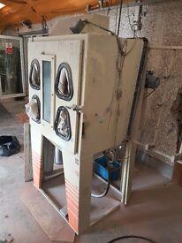 Odlings MCR 103p Sand Blast Cabinet