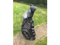 MacGregor golf clubs and golf bag