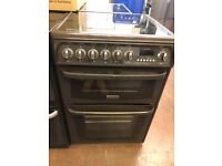 60CM BROWN CANNON ELECTRIC COOKER