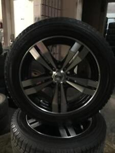 205 55R 16 AEOLUS ICE CHALLENGER WINTER SNOW TIRES/RIMS/SENSORS10/32NDS 5X108 FORD FOCUS FUSION EXCELLENT CONDITION