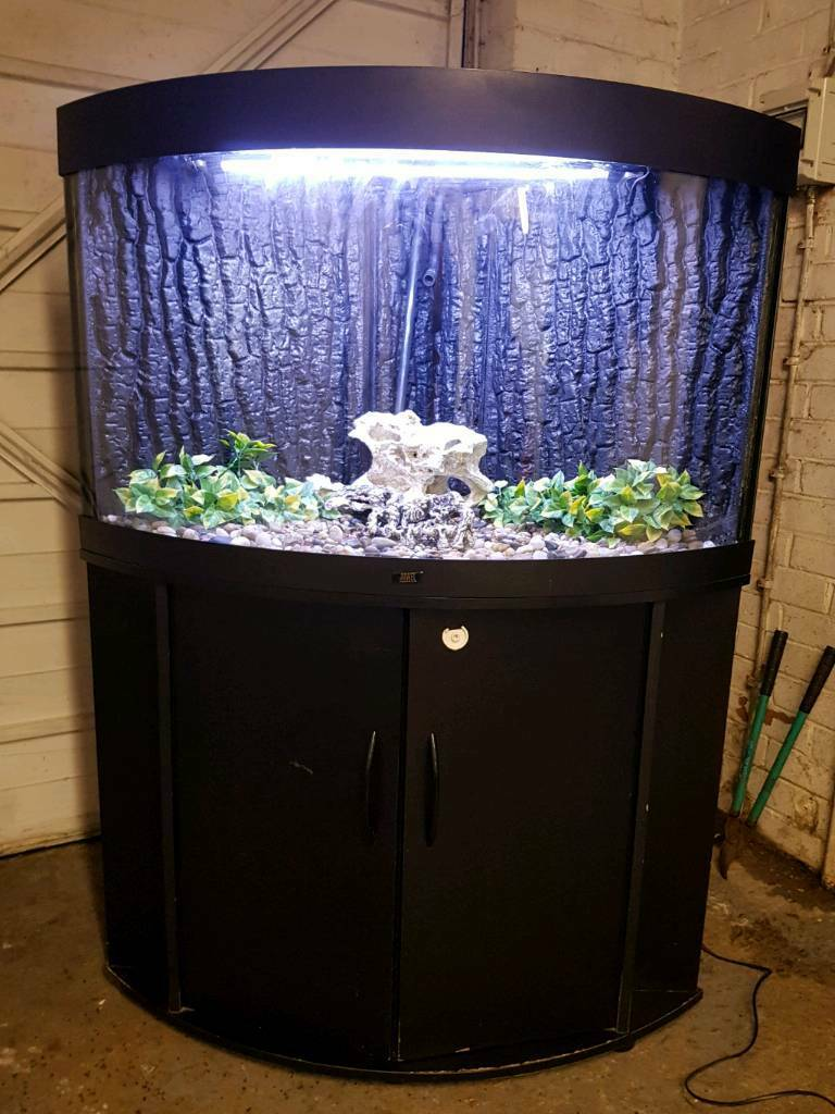 Juwel Corner Fish Tank And Stand For Sale Full Set Up In