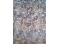Reversible Camouflage Cover Ground Sheet 3.5M X 5.4M 80 GSM
