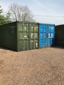 Shipping Container Storage 20' x 8'