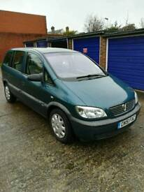 Vauxhall Zafira Club Version 1.6 petrol 16v, immaculate condition, 3 prev owners from new!
