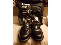 Size 6 Dr Martens 'Brook' shoes - with bag