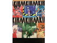 Akira Manga Dark Horse Complete Volumes 1-6