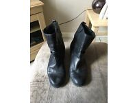 3 pairs Clarks boots and shoes size 7