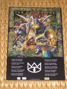The Cat Empire - Sep 2013  Australian Tour - Laminated  Promo Tour Poster