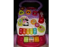 Fisher Price walker with play centre