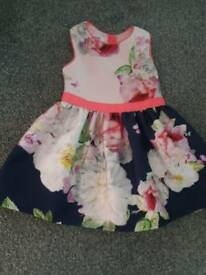 Ted baker girls dress age 18-24 months