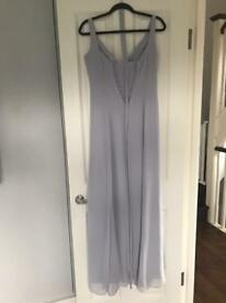 Lilac/grey Veromia Bridesmaid dress worn once.