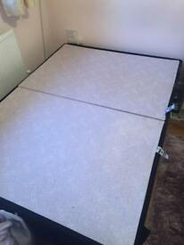 Double Bed in near new condition with BRAND NEW Headboard