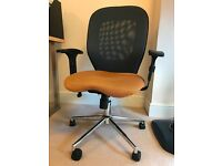 Dual colour study/office chair for sale