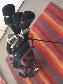 Dunlop Golf Clubs and Bag