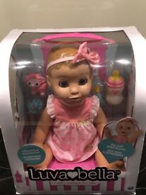 Luvabella Doll, Blonde new in box