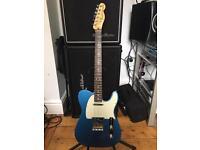 2015 Fender American Telecaster Guitar - Blue