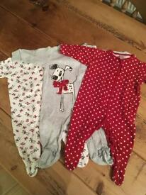 Next Baby grows SZ 3-6 months Exc Con