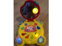Baby laptop children's toy- marks and spencer