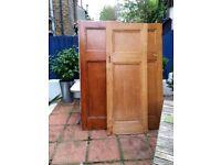 3 Antique 1920's 1930's Art Deco Arts & Crafts 1 Over 1 Panel Doors £15 EACH