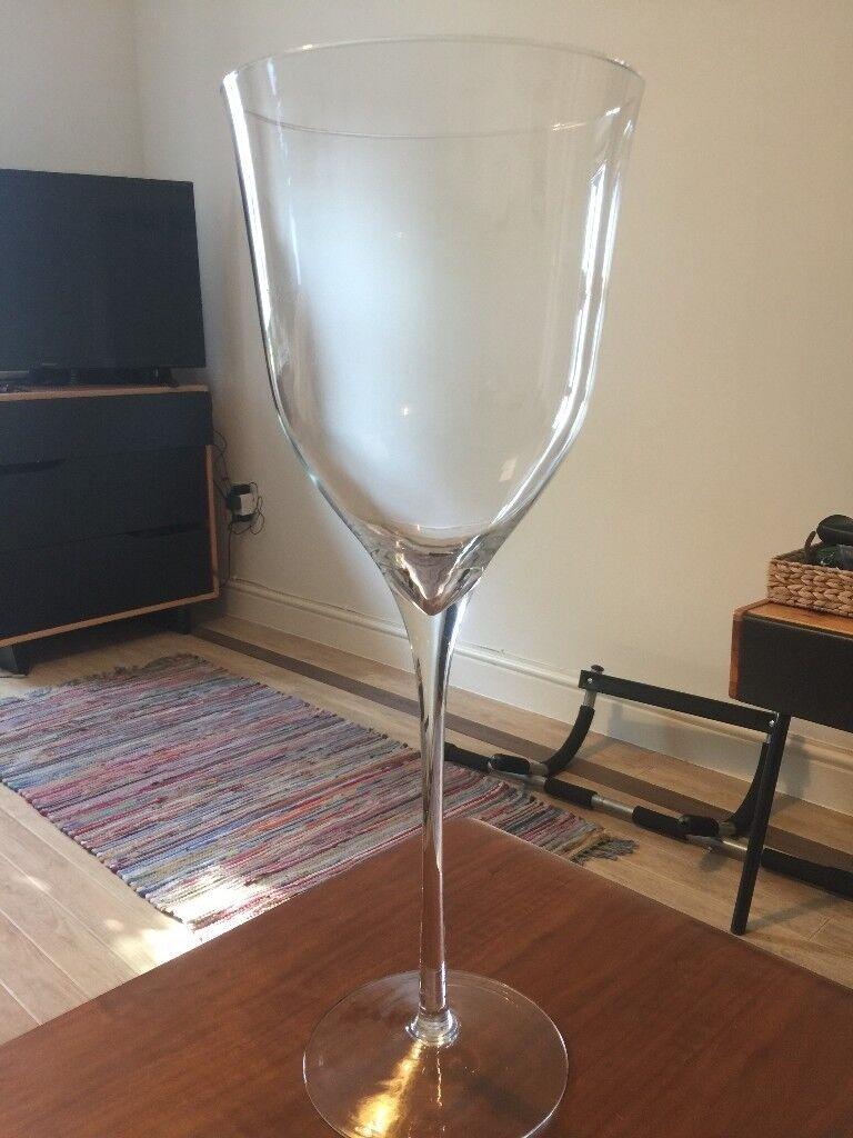 Giant Wine Glassvase From France In Lewisham London Gumtree