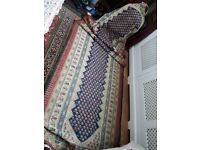 Persian rug/carpet, Antique and handmade, runner over 130 years old, 100% pure wool, natural dye.