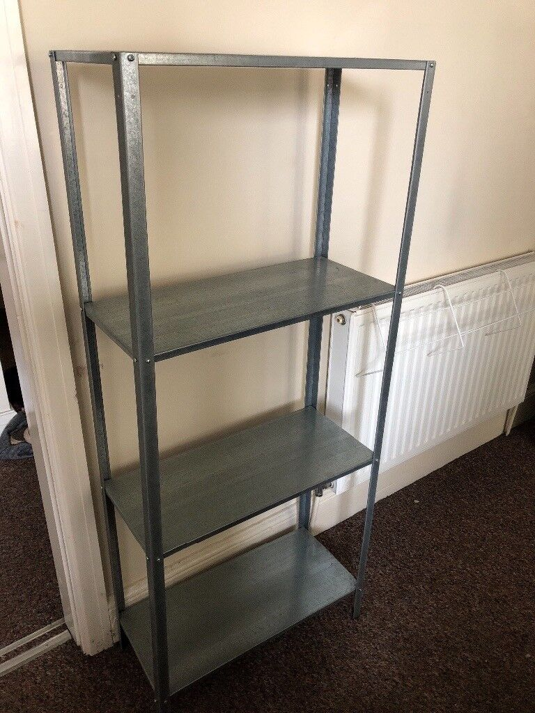 sports shoes 9a6f3 0af63 Ikea silver free standing shelving unit. | in Urmston, Manchester | Gumtree