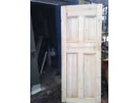 Edwardian Pine Door