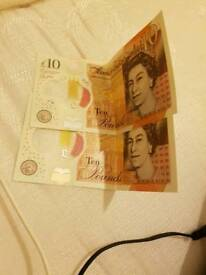 New £10 pound note for sale