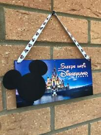 Countdown to Disneyland Paris countdown plaque