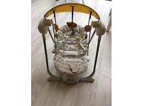 Chicco baby swing