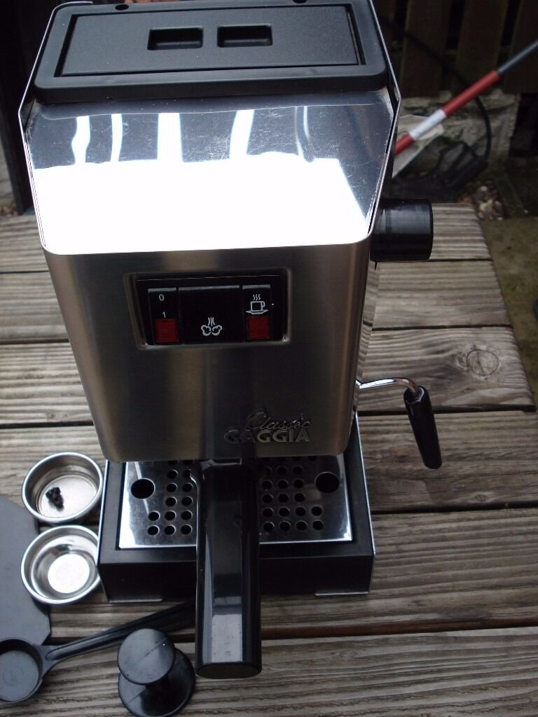 Gaggia Classic Excellent Condition Old Model Boxed Instructions Can