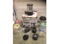 Home Collection Turbo Juicer 21 Piece Set New Please Read! STRICTLY CALLS ONLY!