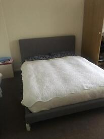 Only 6 months used double bed 300£