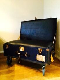 Vintage Suitcase Chair. Ideal Shop Display
