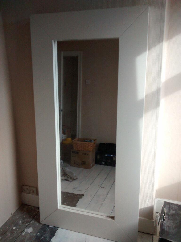 White Ikea Mongstad Mirror 94x190cm Urgent