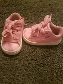 Toddler puma trainers