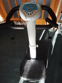 VIBRAPOWER powerplate with resistance bands