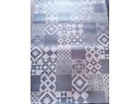 Victorian tile disign vinyl flooring 120x320