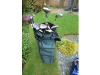 A Set of Wilson Ladies Golf clubs