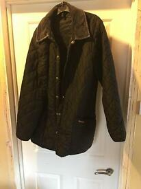 Barbour coat black