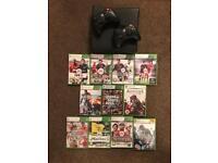 Xbox360 + 11 games